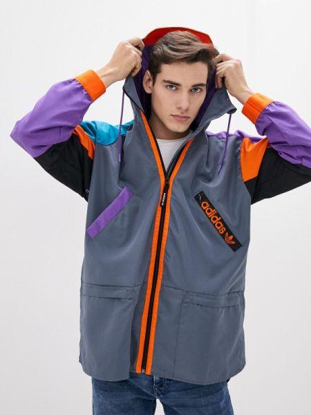 Куртка серая Adidas Originals