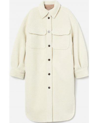 Пальто из овчины - белое H&m