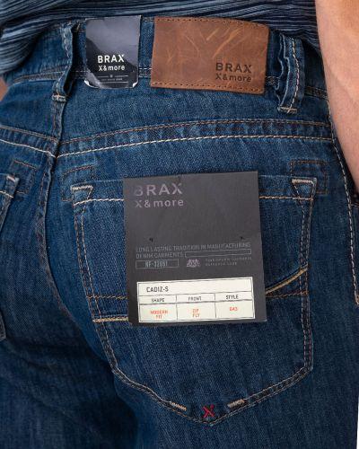 Синие джинсы Brax