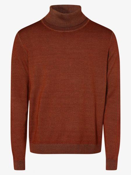 Sweter vintage - pomarańczowy Andrew James New York