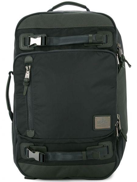 Черный рюкзак прямоугольный Makavelic