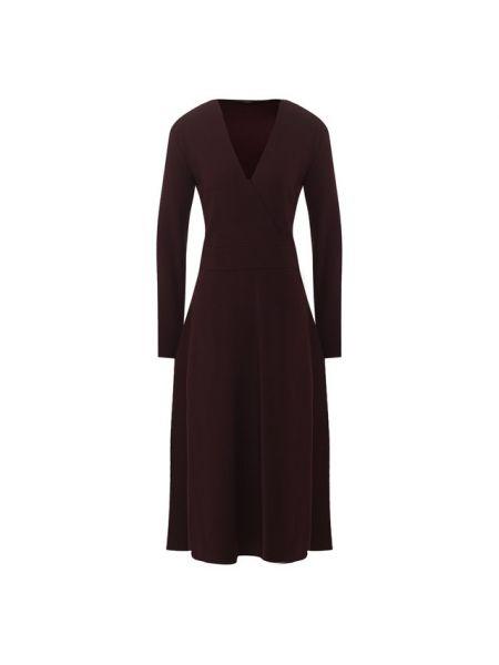 Платье с V-образным вырезом - красное Windsor