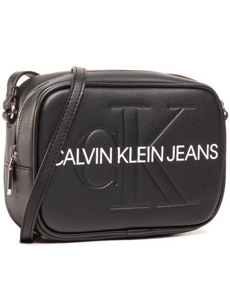 Czarny jeansy Calvin Klein Jeans