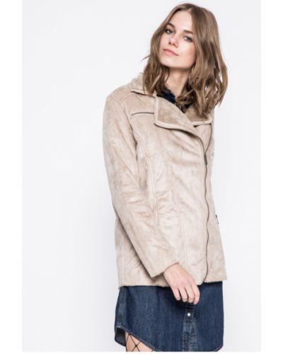 Кожаная куртка с карманами утепленная Fresh Made