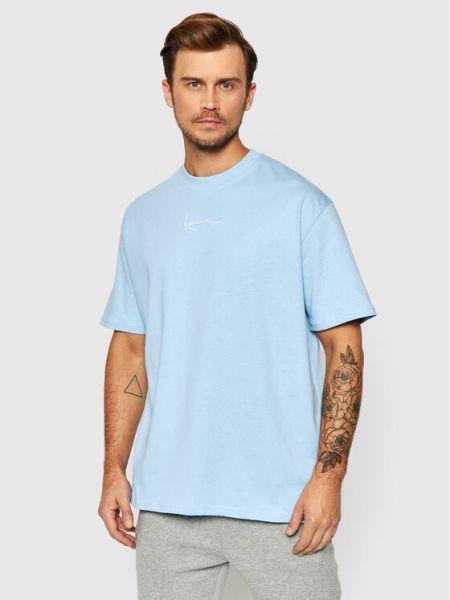 Niebieska t-shirt Karl Kani