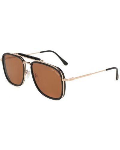 Солнцезащитные очки авиаторы металлические Tom Ford