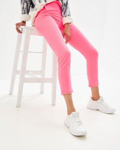 Спортивные брюки розовый By Swan