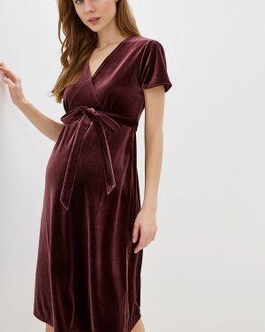 Платье для беременных бордовый красный Gap Maternity
