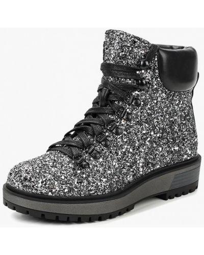 Ботинки осенние серебряного цвета Super Mode