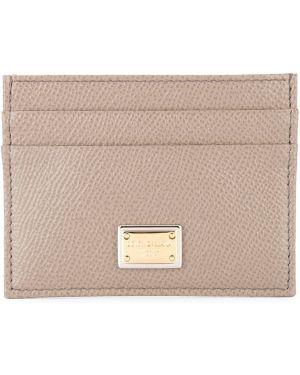 Кожаный кошелек итальянский прямоугольный Dolce & Gabbana