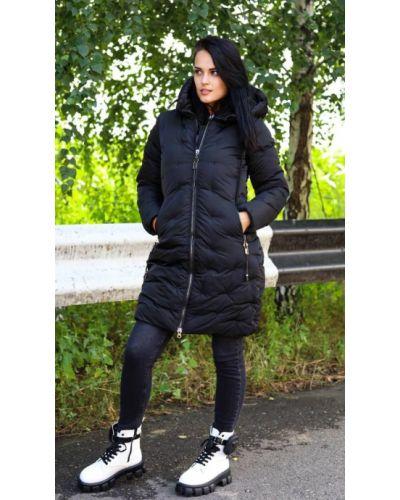 Куртка из плащевки - черная No Brand