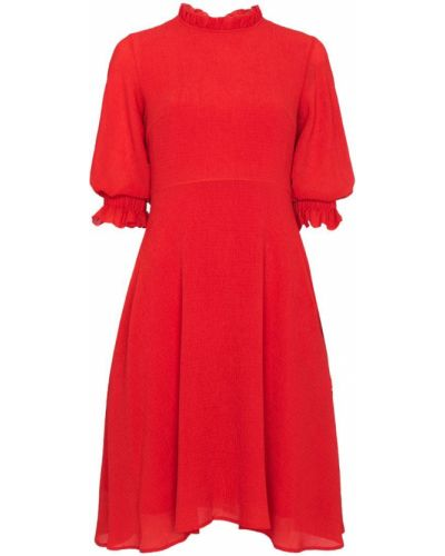 Платье приталенное с оборками Rejina Pyo