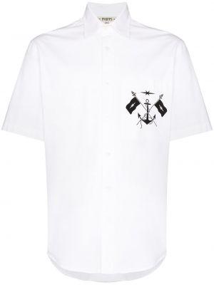 Biała koszula bawełniana Phipps