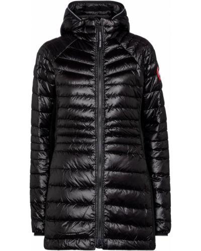 Облегченное черное пуховое пальто Canada Goose