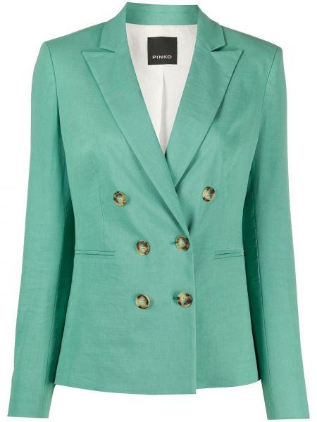 Пиджак прямой с накладными карманами Pinko