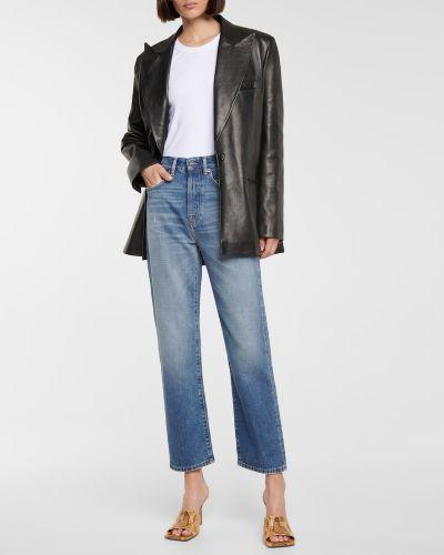 Klasyczne niebieskie jeansy bawełniane Acne Studios