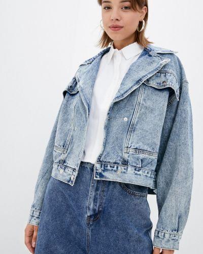 Джинсовая куртка - голубая Grafinia