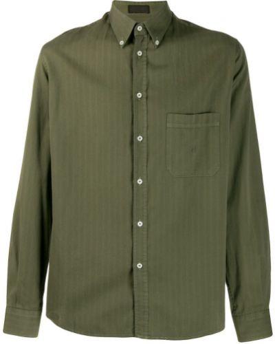 Рубашка винтажная на пуговицах Balmain Pre-owned