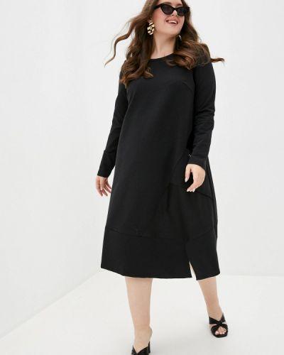 Платье - черное Vivostyle