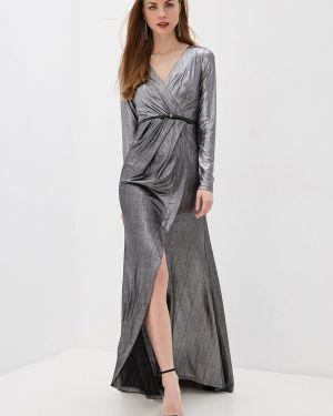 Вечернее платье осеннее черное Anastasya Barsukova