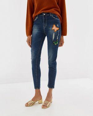 Зауженные джинсы - синие Almatrichi