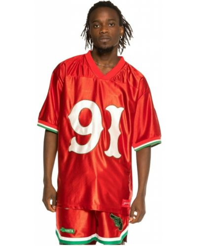 Czerwona t-shirt Grimey