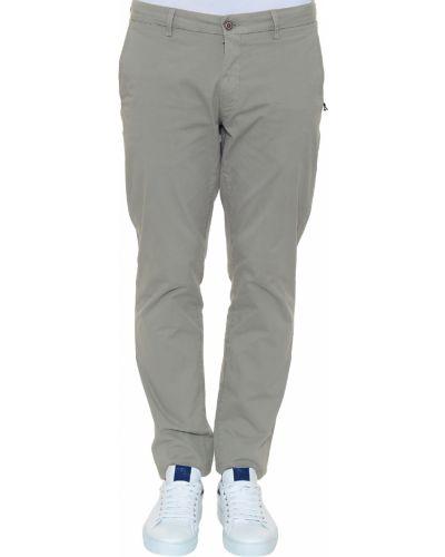 Хлопковые брюки - серые Corneliani