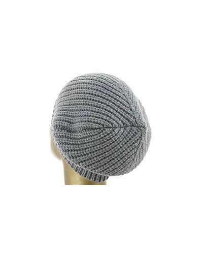 Серая вязаная шапка Peserico