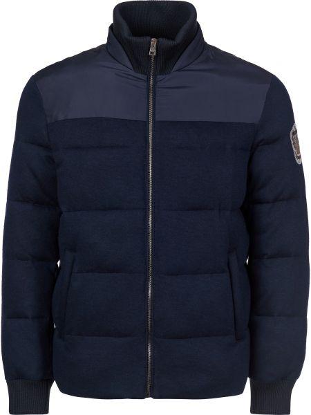 Кашемировая куртка - синяя Gallotti