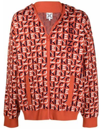 Bluza dresowa - pomarańczowa Kenzo