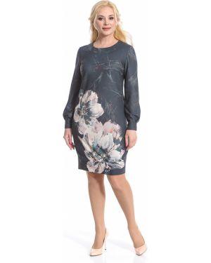 Платье платье-сарафан с длинными рукавами Merlis