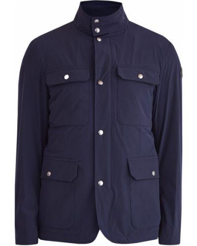 Куртка с нашивками с логотипом Moncler