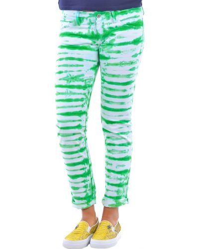 Зеленые брюки хлопковые P.a.r.o.s.h.