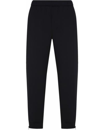 Спортивные брюки черные широкие Prada