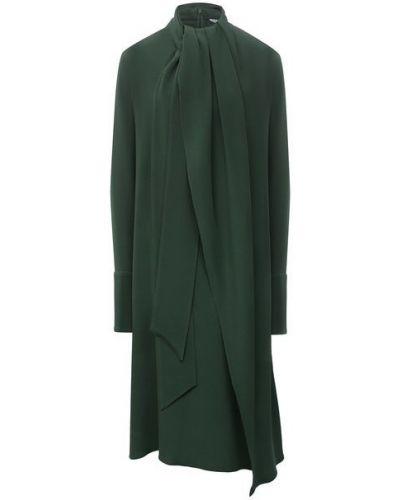 Шелковое платье Loewe