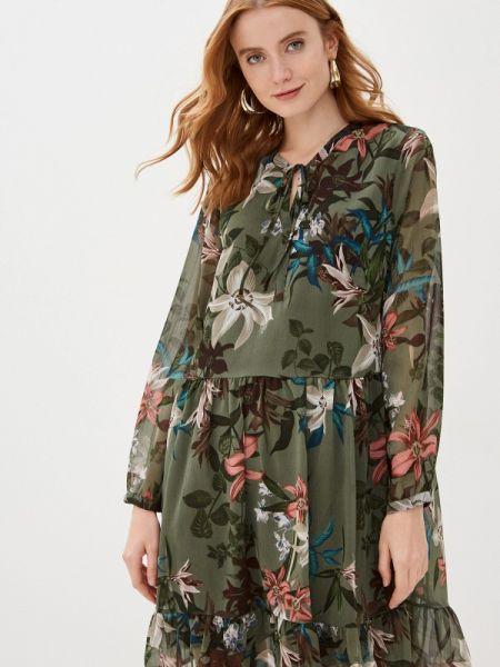 Платье прямое зеленый B.young