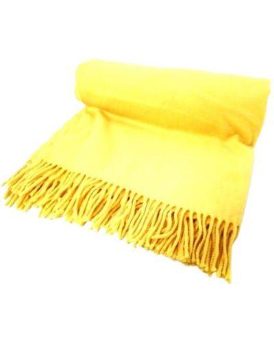 Żółty szalik Hermès Vintage