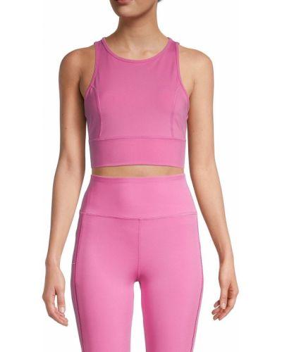 Розовый спортивный бюстгальтер на бретелях Nanette Lepore