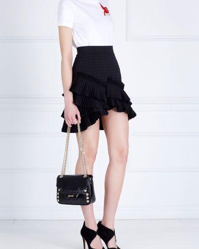 Кожаная сумка Just Cavalli