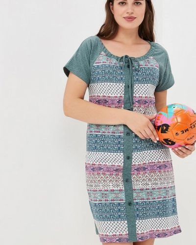 Платье весеннее зеленый Лори