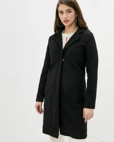 Черное пальто Defacto