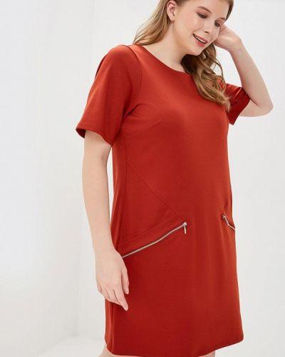 Платье - коричневое Evans