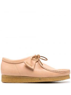 Кожаные туфли на шнуровке Clarks Originals