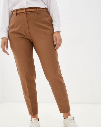 Коричневые зауженные брюки Franco Vello