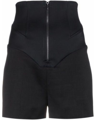Однобортные черные шорты Esteban Cortazar