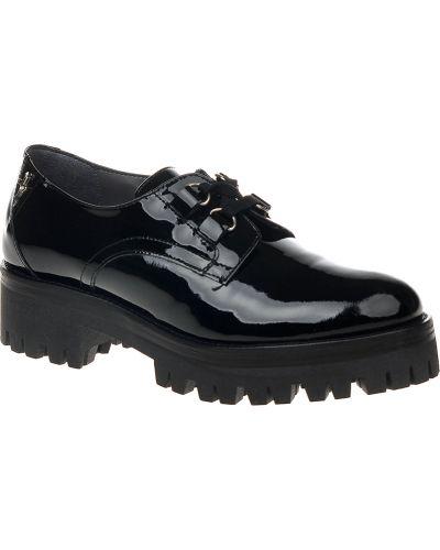 Туфли на каблуке на танкетке на платформе Cesare Paciotti