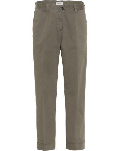 Классические брюки укороченные зеленый Woolrich