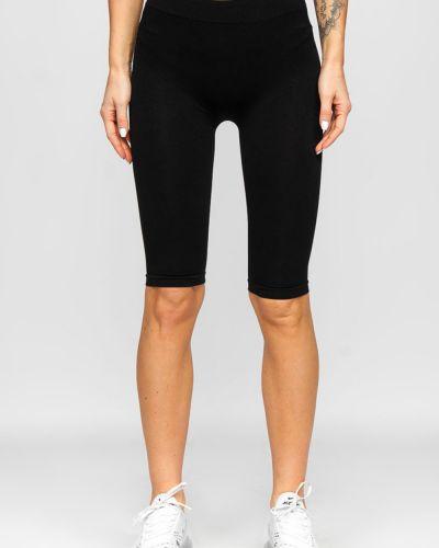 Черные шорты из эластана Greenice