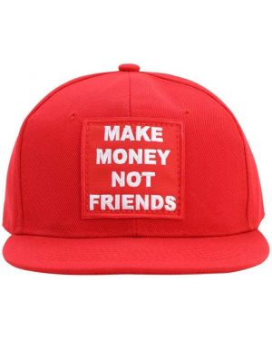 Kapelusz z haftem Make Money Not Friends