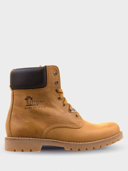 Кожаные ботинки - желтые Panama Jack